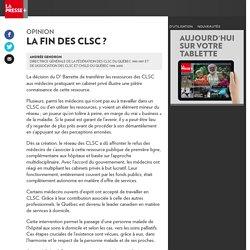 La fin des CLSC?