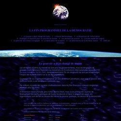 La fin programmée de la démocratie - Pale Moon