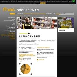 Site Institutionnel du goupe Fnac