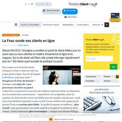 La Fnac sonde ses clients en ligne