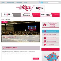 La FNESR - La Maison des élus