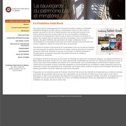 Fondation Saint-Roch de Québec