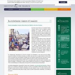 LA FONTAINE. FABLES ET IMAGES