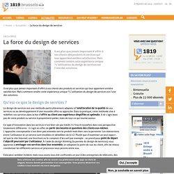 La force du design de services