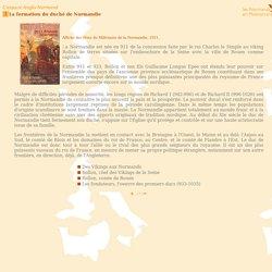 La formation du Duché de Normandie