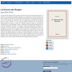 La fortune des Rougon - Zola, Emile
