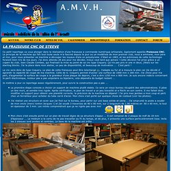 La Fraiseuse CNC de Steeve