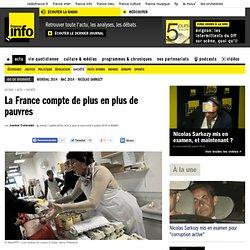 La France compte de plus en plus de pauvres