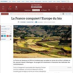 La France conquiert l'Europe du bio