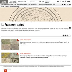 La France en cartes