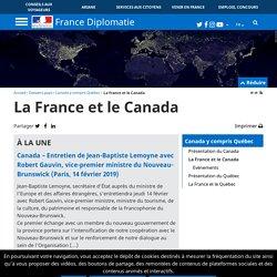 La France et le Canada
