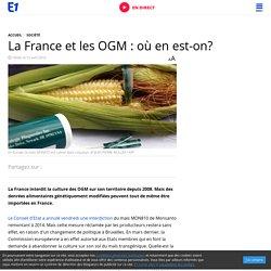 La France et les OGM : où en est-on?
