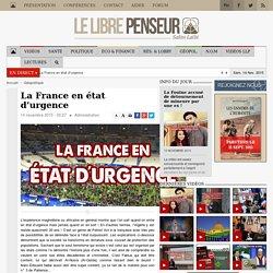 13/11/2015 FRANCE ÉTAT de DICTATURE DÉCLARÉ