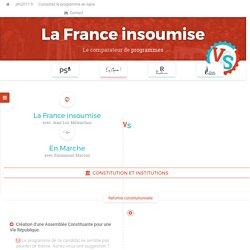 La France insoumise VS En Marche