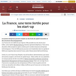 La France, une terre fertile pour les start-up