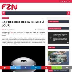 La Freebox Delta se met à jour