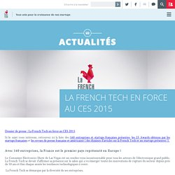La French Tech en force au CES 2015