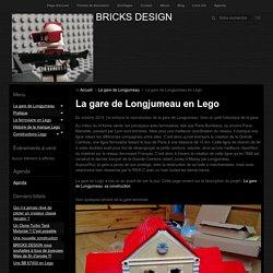 La gare de Longjumeau en Lego
