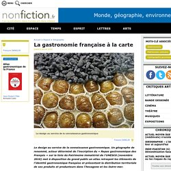 La gastronomie française à la carte