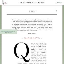 La Gazette des Mamans de Caudalie
