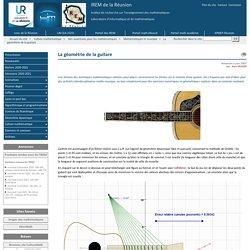 La géométrie de la guitare