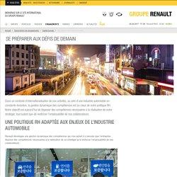 La gestion des compétences de Renault