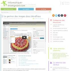 2.2/E5 La gestion des images dans WordPress