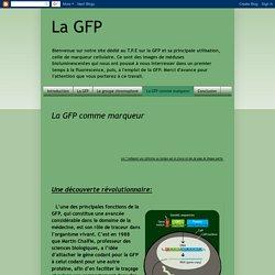 La GFP: La GFP comme marqueur