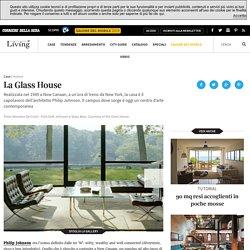La Glass House di Philip Johnson