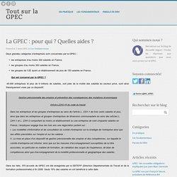 La GPEC : pour qui ? Quelles aides ? - Tout sur la GPEC