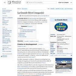 document 10 La Grande Récré (magasin)