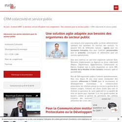 La GRC du Service Public – Eudonet
