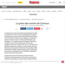 La grève des verriers de Carmaux