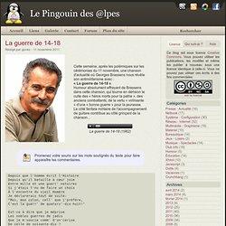 La guerre de 14-18 - Le Pingouin des @lpes