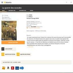 La guerre des mondes - H.G. Wells