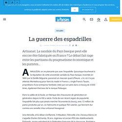 La guerre des espadrilles - Le Parisien