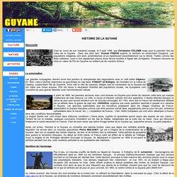 La Guyane - Histoire