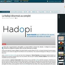 La Hadopi désormais au complet