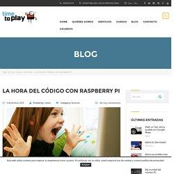 La hora del código con Raspberry Pi