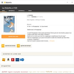 La Hulotte, n°103 - La Hulotte