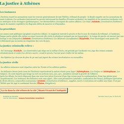 La justice à Athènes