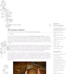 La lampe en calebasse - Leeloolène