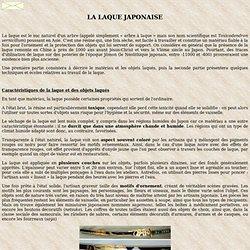 La laque japonaise