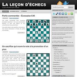 La leçon d'échecs