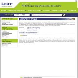 Médiathèque départementale de la Loire : liseuses