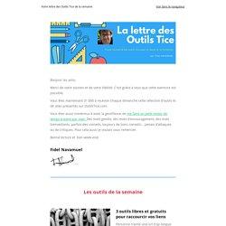 □ La lettre des Outils Tice - 16 juin
