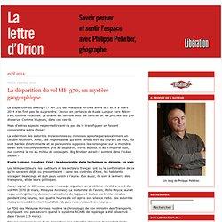 La lettre d'Orion: blog de Philippe Pelletier
