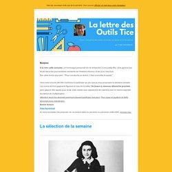 □ La lettre des Outils Tice - 7 mai