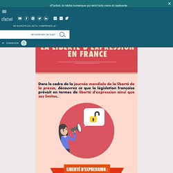 La liberté d'expression en France