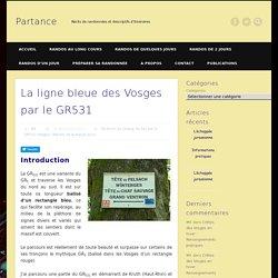 La ligne bleue des Vosges par le GR531